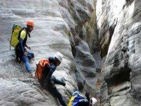 Pratica speleologia con Daan Adventure