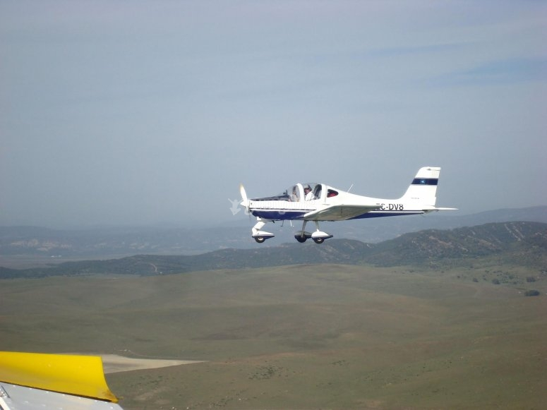 20 minutes of flying in a light aircraft