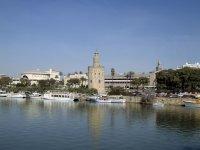 La Torre del Oro y el rio