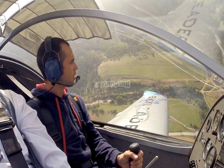 Experiencia de vuelo