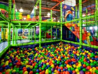 El parque de bolas nuevo