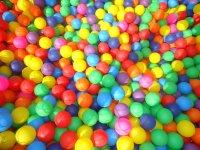 Las bolas de la piscina