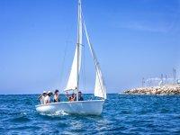 Dinghy sailing course Murcia
