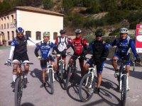 Rutas en bici con amigos