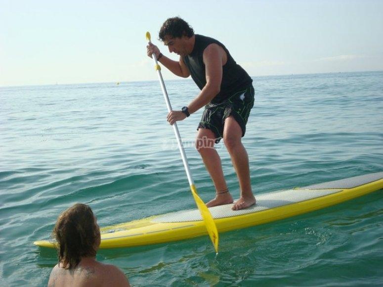 Practicas en el agua