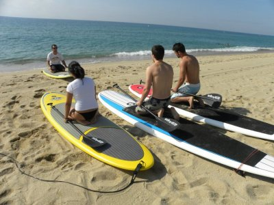 Stand up paddle induction lesson 2 hours