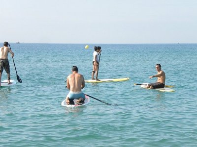 Guided stand up paddle surfing outing