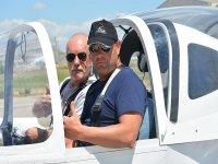 Ultralight flight in Alhama