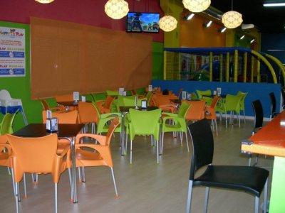 Cumpleaños Parque Infantil y Menú Pizza Madrid