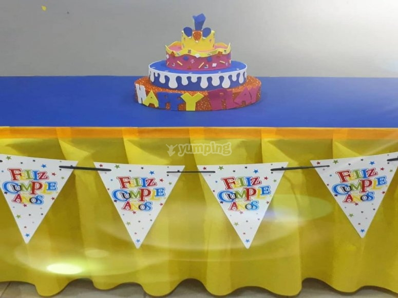 Birthday party in Alcala