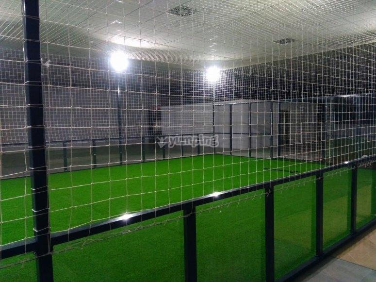 Nuestra pista de fútbol