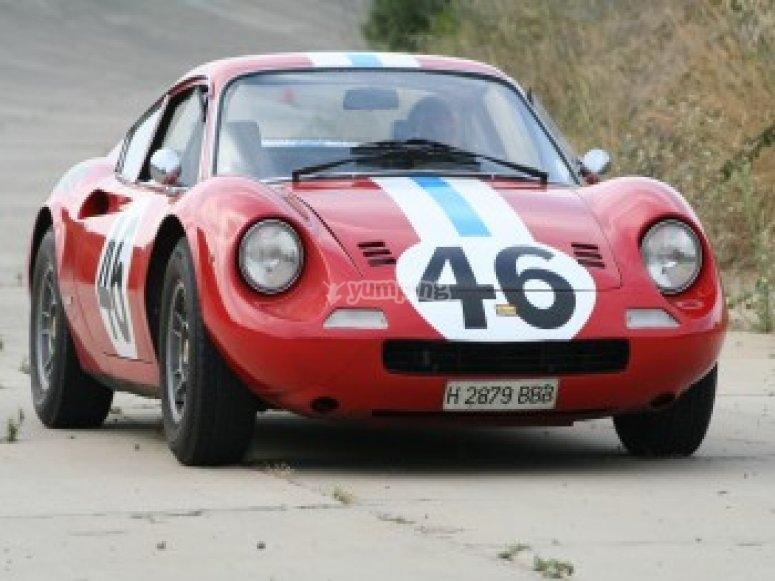 Driving a Ferrari on the circuit