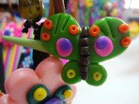 Mariposa hecha por los niños