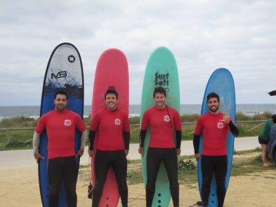 Curso de iniciación al surf en El Palmar 90 min