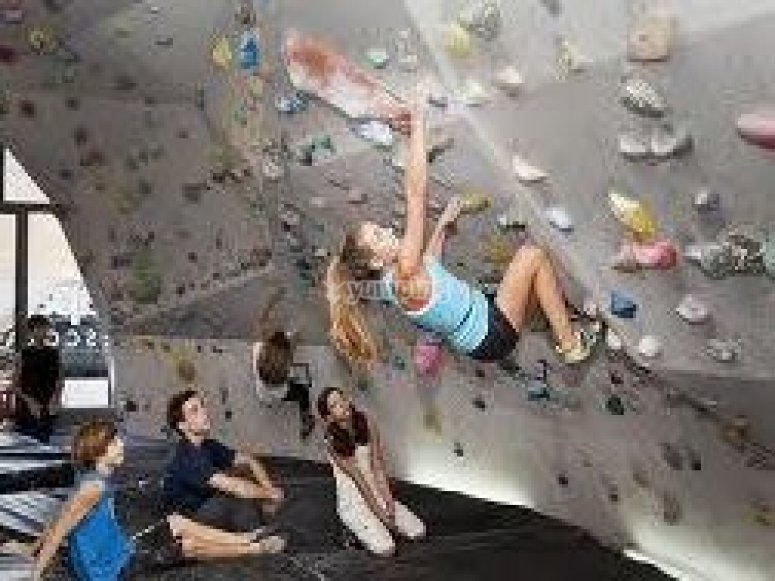 Introductory rock climbing