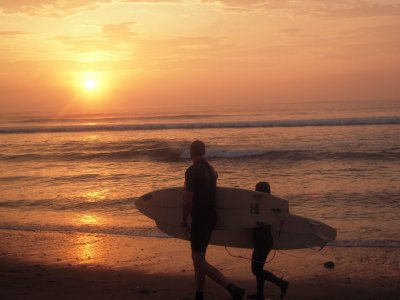 在El Palmar冲浪课程3天