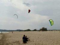 Kitesurf initiation course in L'Estartit beach