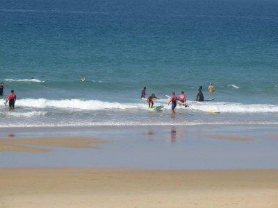 在El Palmar冲浪课程7天