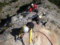 climbing ferrata