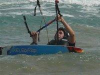 风筝冲浪在兰萨罗特风筝课程