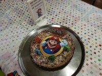 Tarta de Mario Bross