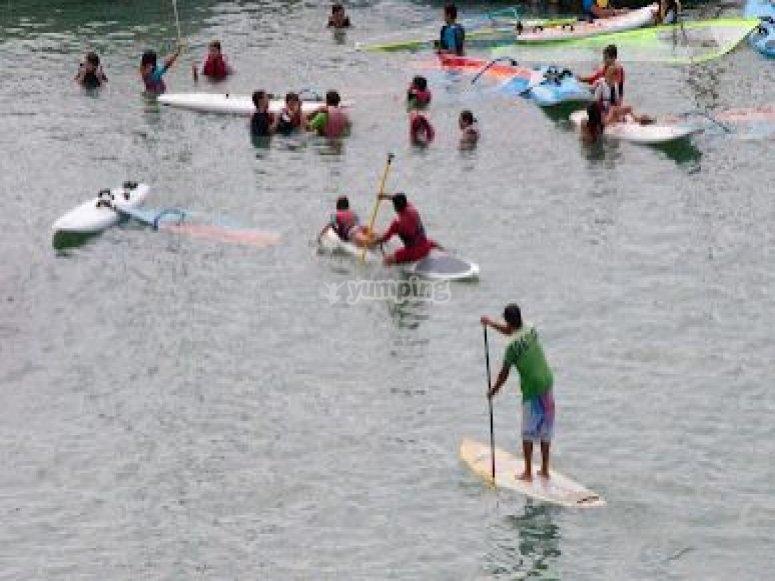 Paddle Surf iniciación