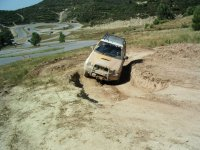 Driving an off-road vehicle