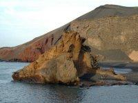 不要错过在兰萨罗特岛景色壮观日落