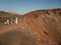 自然公园火山火山,美丽的自然公园的令人难以置信的美景蒂曼法亚