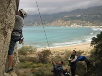 Supervisando la escalada