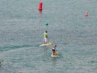 周末划桨冲浪
