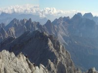 Vista de los Dolomitas