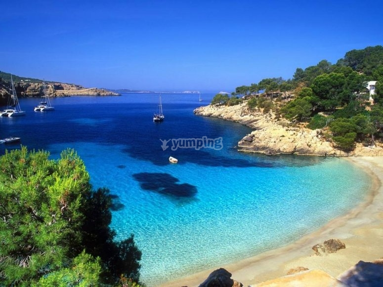 Playas de agua cristalina