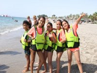 The most fun camps on the beach