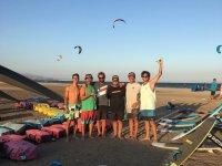 Kitesurfer team