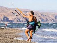 Kitesurfing in Almería