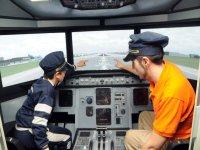 Cabina y piloto