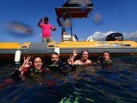 Fun diving day