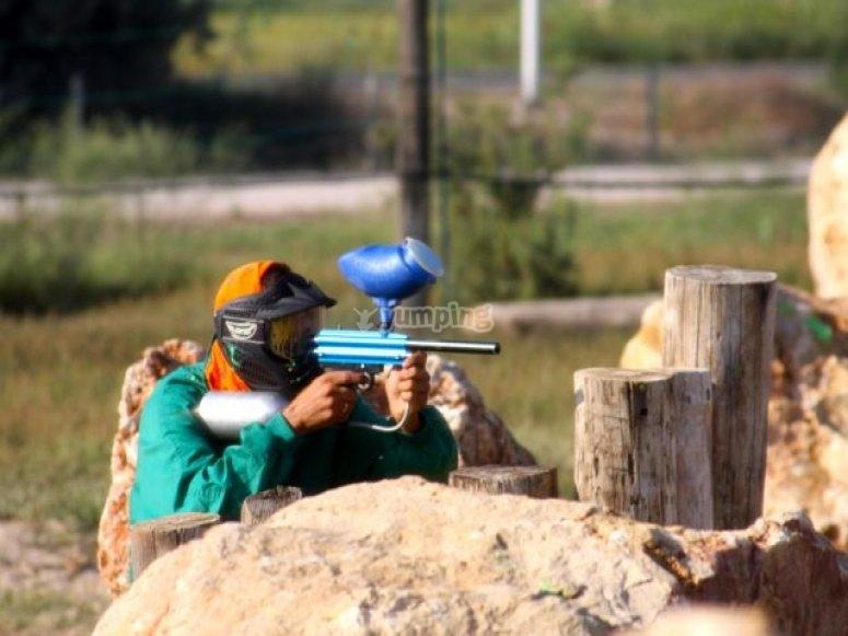 Apuntando para disparar