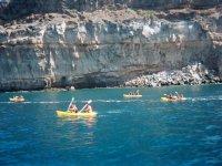 加那利群岛的悬崖
