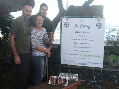 Clase de pesca desde costa en Ribadesella de 2 h