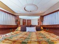 Camere confortevoli sulla barca