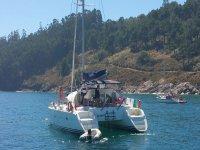Escursione in catamarano in Galizia