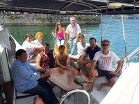 Navigazione verso l'isola di San Simone