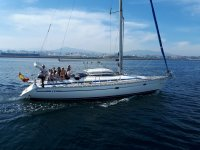 Addio a San Yago in barca