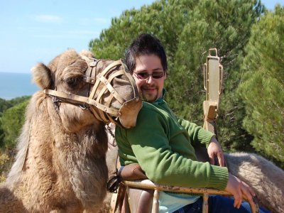 Camel Ride through Doñana 1h Children
