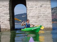 Crossing the Bell tower by kayak