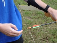 Colocando la flecha en su posicion