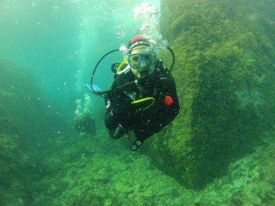 来自Platja de Aro的潜水洗礼