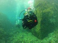 在海的深处